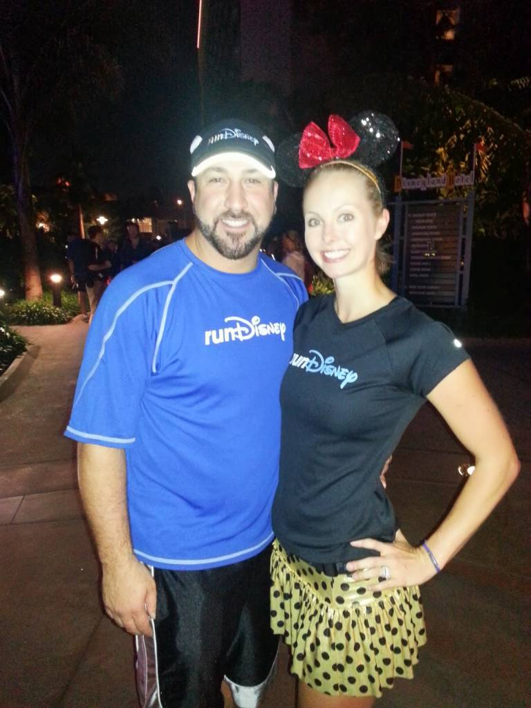 Joey Fatone from Nsync and RunDisney