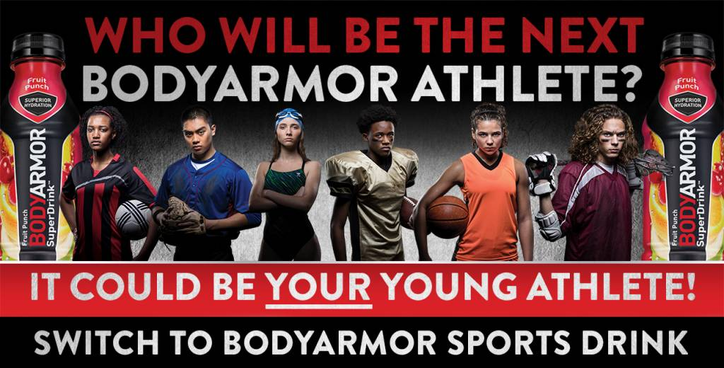 BODYARMOR Athlete Blogger