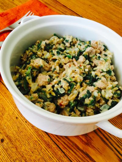 Easy Weeknight ground turkey alfredo recipe with Butterball Farm to Family