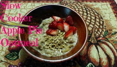 Slow cooker apple pie oatmeal recipe