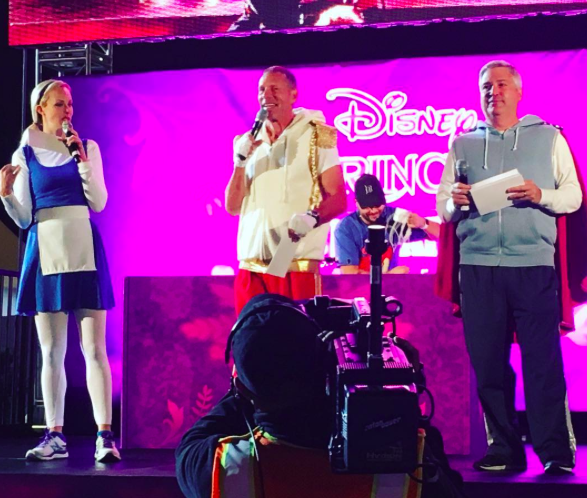 Disney Princess Half Marathon announcers